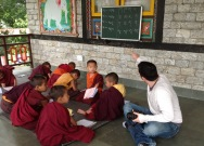 teaching-young-tibetan-monks