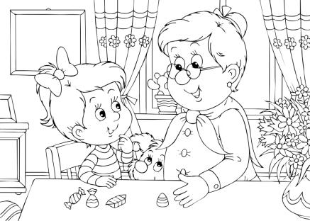 disegno-nonno-nipote-in-cucina-da-colorare